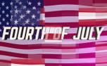 Digital Flag Fourth of July (98901)