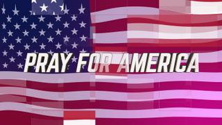 Digital Flag Pray for America