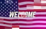 Digital Flag Welcome (98907)