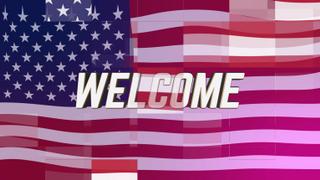 Digital Flag Welcome