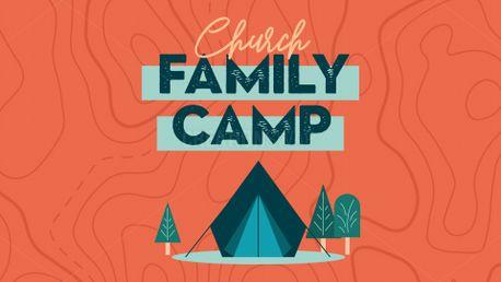 Church Family Camp Slide (99002)