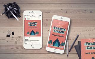 Church Family Camp IG Story