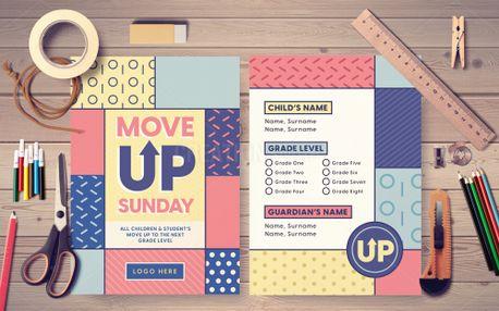Move Up Sunday Postcard (99008)