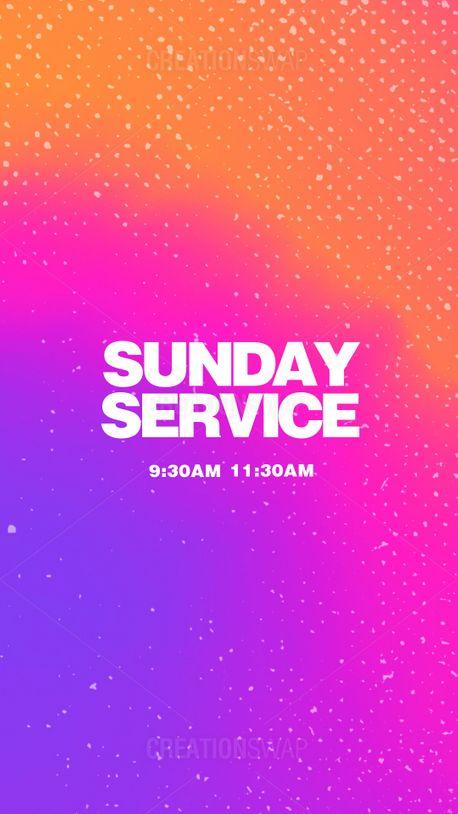 Sunday Service (99022)
