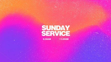 Sunday Service (99024)