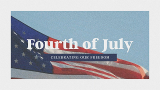Patriotic Fourth of July