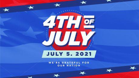4th of July Slide (99030)