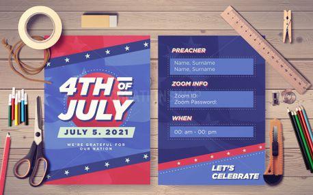 4th of July Postcard (99032)