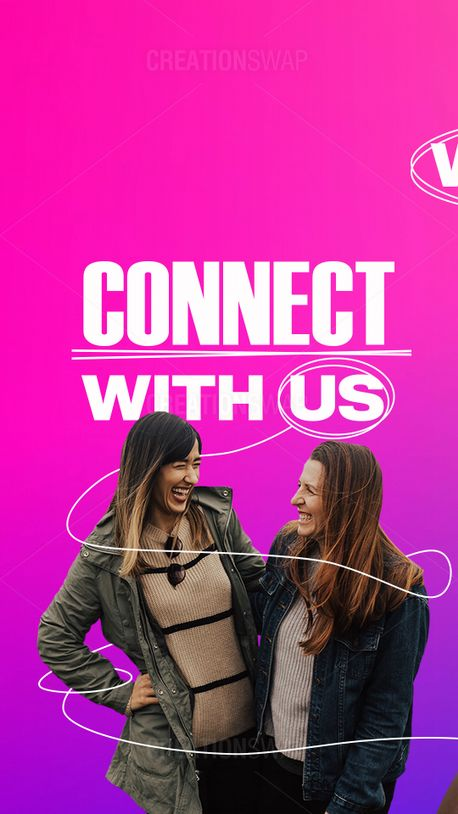 Connect With Us Swipe Series (99075)