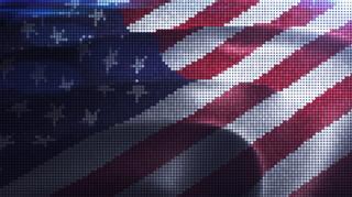 Digiball Flag Background