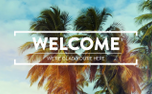 Summer Palms Welcome (99152)
