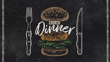 Church Dinner Stills (99157)