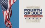 Fourth of July Flag (99164)