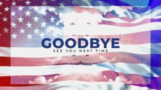 Patriotic Goodbye Slide