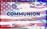 Patriotic Communion Slide (99178)