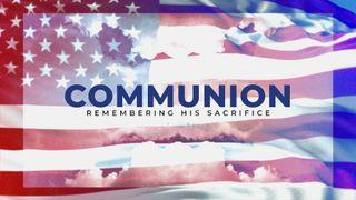 Patriotic Communion Slide