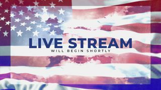 Patriotic Live Stream Slide