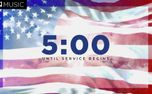Patriotic 5 Minute Countdown (99181)