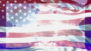 Patriotic Blank Motion Loop