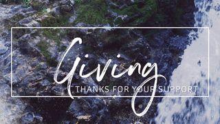 Rocky Falls : Giving