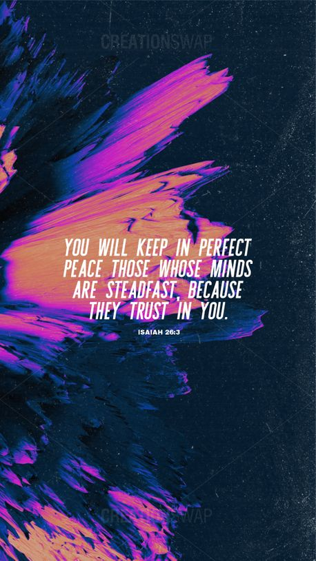 Isaiah 26:3  (99268)