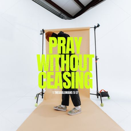 Pray Without Ceasing (99269)