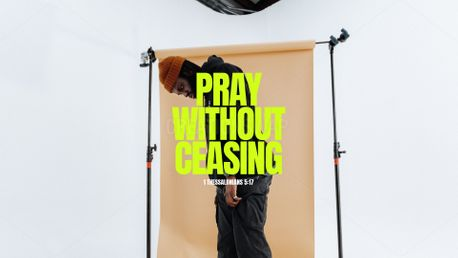Pray Without Ceasing (99270)