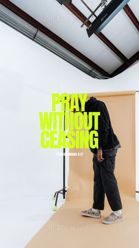 Pray Without Ceasing (99271)