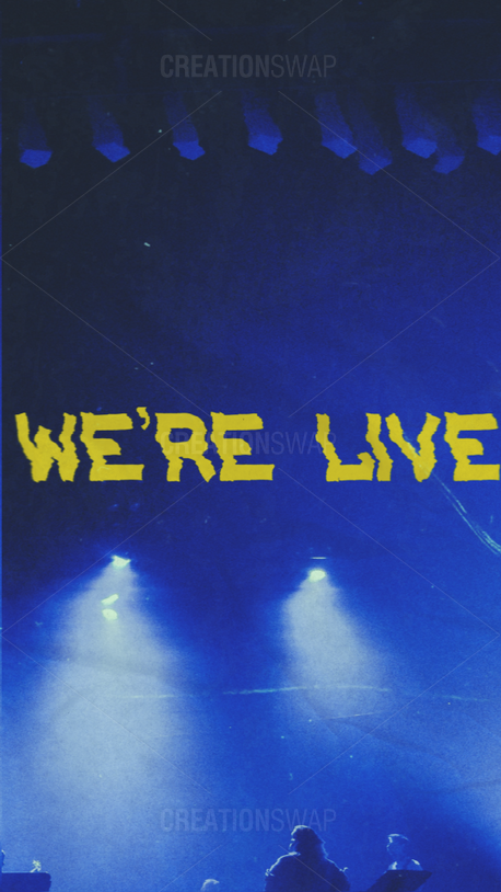 We're Live (99305)