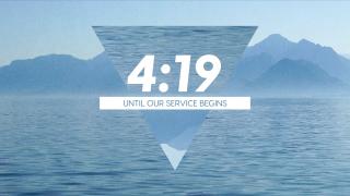 Mountain Lake Countdown