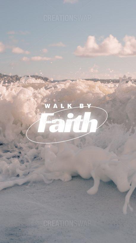Walk by faith (99395)