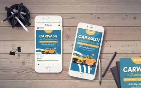 Carwash Fundraising IG Story (99407)