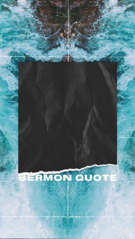 Sermon Quote Template