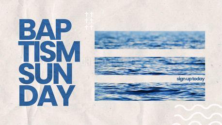 Baptism Sunday Artwork (99486)