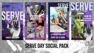 Serve Day Social Pack