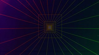 Square Tunnel Background