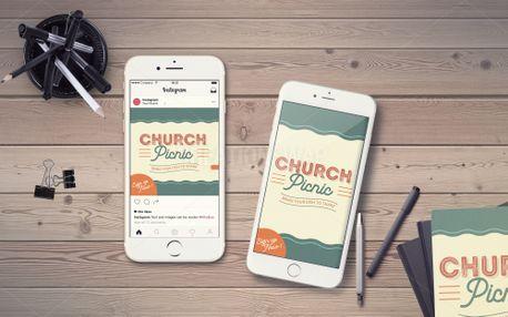Church Picnic IG Story (99520)
