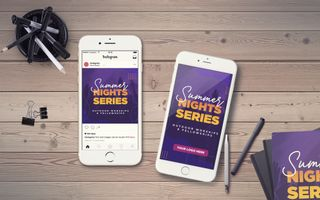 Summer Night Series IG Story