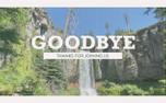 Vintage Waterfall Goodbye (99601)