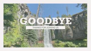 Vintage Waterfall Goodbye