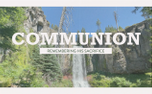 Vintage Waterfall Communion (99602)