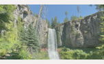 Vintage Waterfall Loop (99603)