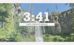 Vintage Waterfall Countdown (99604)