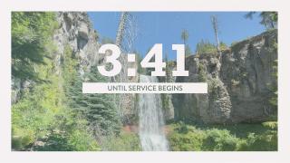 Vintage Waterfall Countdown