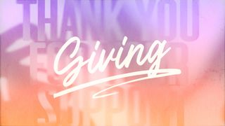 Passion Fruit : Giving