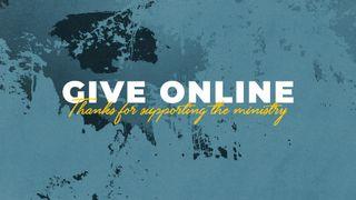 Blue Give Online Slide