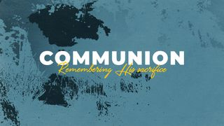 Blue Communion Slide
