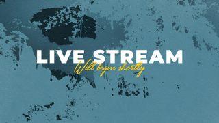 Blue Live Stream Slide