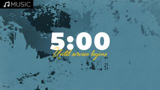 Blue 5 Minute Countdown