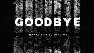 Infinite Pixel : Goodbye